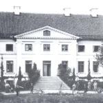 Aizupes muižas kungu māja 20.gs. sākumā. Foto: nezināms. I.Dišlere, A.Ozola.