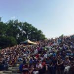 2015. gads. Dzintara dziesmu koncerts Kandavā.