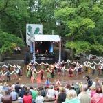 2012. gads. Hartas noslēguma ceremonija Kandavā. Foto: Dagnija Gudriķe.