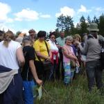 2015. gads. Vides diena Čužu purvā ar eksperti Agnesi Priedi.