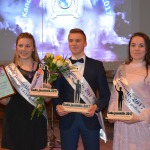 Kandavas novada Gada jaunieši 2017-Dārta Ošeniece, Kristaps Kristers Ozols un Sintija Bondarenko