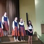 Lieldienu koncertā Zantē dzied Zantes pamatskolas vokālais ansamblis