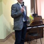 Zanteniekus Lieldienās sveica Kandavas novada domes izpilddirektors Egīls Dude