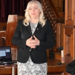 Novada domes priekšsēdētāja Inga Priede