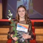 """Nominācijā """"Cerība sportā"""" pateicību saņēma BJSS vieglatlēte Agnese Besikirska"""