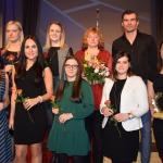 """Galveno balvu nominācijā """"Labākā komanda"""" saņēma SK Kandava sieviešu volejbola komanda"""
