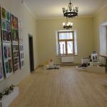 Kandavas Mākslas un mūzikas skolas audzēkņu darbu izstāde. Foto: Dagnija Gudriķe.
