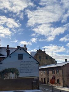 Laimoņa Vāczemnieka dzejas siena