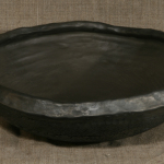 Bļoda. Augstums 8cm, diametrs 27.Keramikas bļoda.Svēpētā keramika, slāpētā keramika, melnā keramika, roku darbs, hand made, craftman, ceramica, food fired, Latvia, Kandavas keramikas ceplis