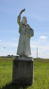 Meitene, skulptūra