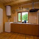 Mednieku namiņa virtuve.