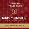 Zvērināts advokāts Jānis Muižnieks, advokātu birojs