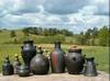 Pūdnīku skūla, keramika