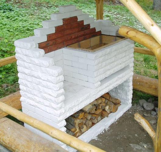Печь на участке на даче
