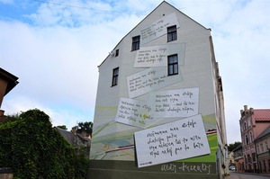 Ulda Ausekļa dzejas siena