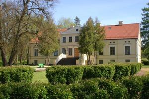 Valdeķu pils, manor house