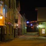 Kandavas vecpilsēta 2012.gada Ziemassvētkos. Foto: Egils Rēdmanis