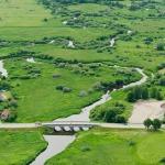2012.gads. Vecākais laukalmeņu tilts Latvijā, Kandavā pāri Abavai. Foto: Mihails Ignats