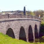 2018. gada maijs. Kandavā tilts (1873) pār Abavu. Foto: Jānis Kamerāds