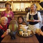 Kafijas un tējas svētki Kandavas novada muzejā. Foto: Inese Valtenberga.