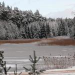Teteriņa ezers Kandavā.