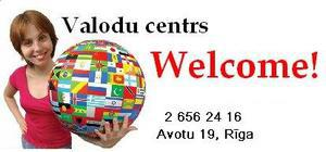 Welcome!, language training